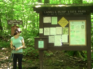 Trailhead signs