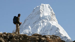 Views to come... Ama Dablam!