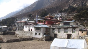 The village of Panboche