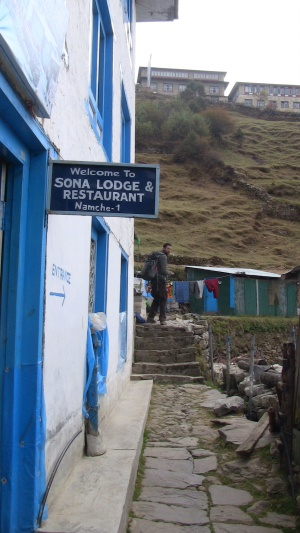Our lodge in Namche
