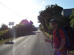 Main road from Madalena to Pico