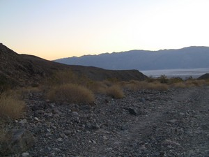 Looking back towards Badwater basin